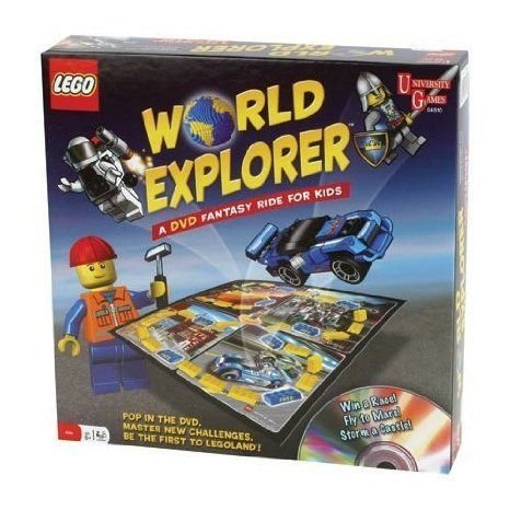 World Explorer: A DVD Fantasy Ride for Kids ブロック おもちゃ