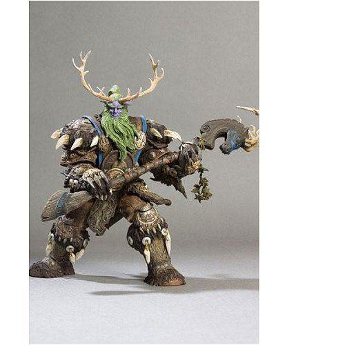 World of Warcraft ワールド・オブ・ウォークラフト Series 2 Night Elf Druid: Broll Bearmantle アクシ