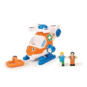 WOW Coastguard Carl - Emergency (4 Piece Set) ミニカー ミニチュア 模型 プレイセット自動車 ダイキャ