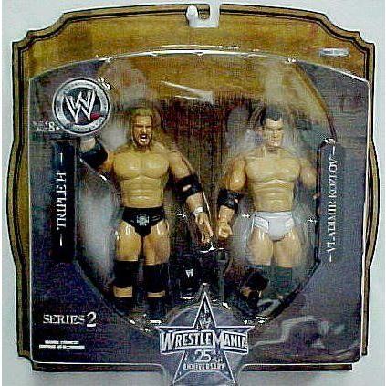 Wrestling Mania Series 2 * WWE プロレス * Triple H & Vladimir Kozlov * 2 アクションフィギュア Appo