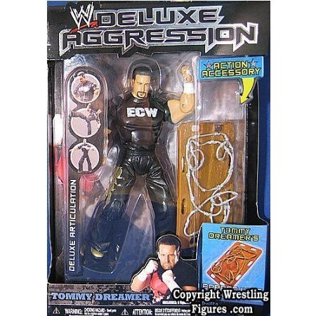 WWE (プロレス) JAKKS DELUXE AGGRESSION 9 TOMMY DREAMER WRESTLING フィギュア