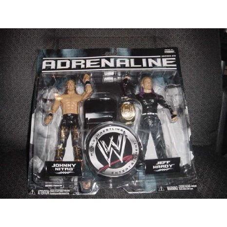 WWE (プロレス) Jakks Pacific Wrestling Adrenaline Series 23 アクションフィギュア 2-Pack Jeff Hardy