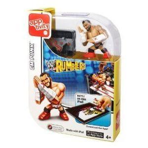 WWE (プロレス) Rumblers Apptivity Cm Punk フィギュア 人形 おもちゃ