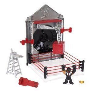 WWE (プロレス) Slam City Breakdown Assault Vault Playset