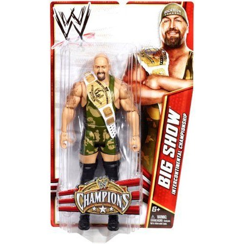 WWE プロレス Champions Exclusive Big Show 6 Action Figure With Intercontinental Championship Belt