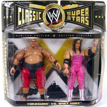 WWE プロレス Wrestling Classic Superstars Limited Edition 限定品 アクションフィギュア 2-Pack Yokoz