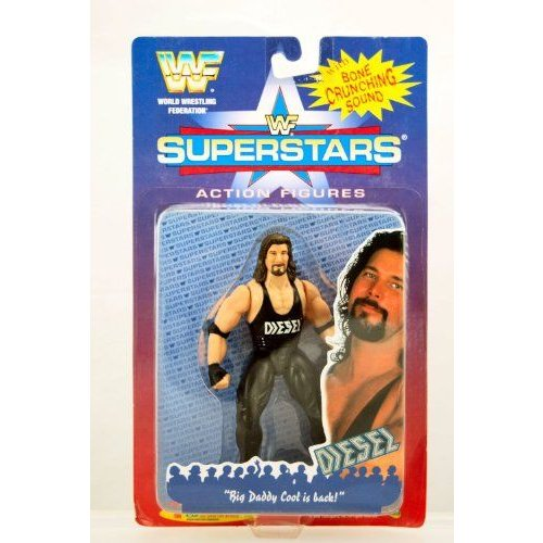 WWF Superstars Wrestling Action Figure Diesel フィギュア ダイキャスト 人形