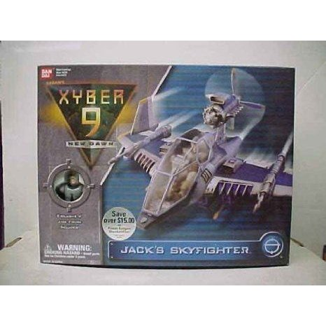 Xyber 9 New Dawn Jack's Skyfighter