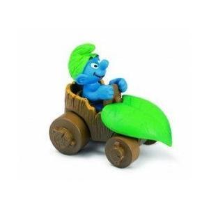 シュライヒ Smurf in Car Toy フィギュア 131002fnp
