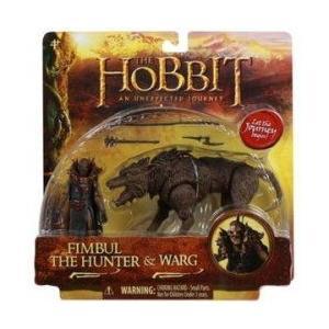 ホビット 3.75 Inch Beast フィギュア Pack Fimbul The Hunter & Warg 131002fnp