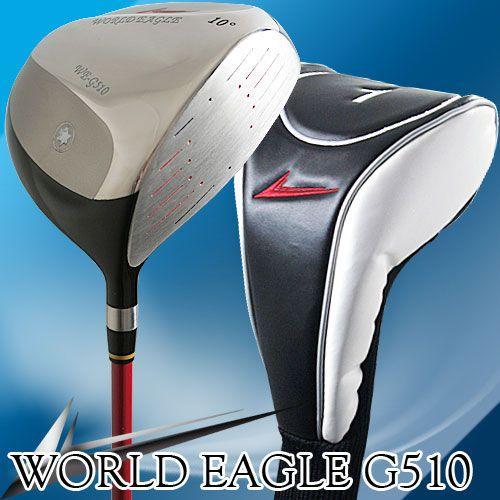 送料無料 ワールドイーグル G510 メンズ チタンドライバー 右用 井戸木プロ推薦!ゴルフ用品