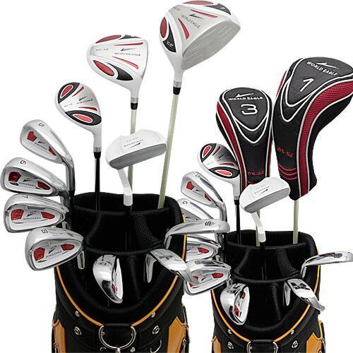 ワールドイーグル 5Z-ホワイト + CBX007カードバッグ メンズゴルフクラブ14点フルセット 右用 ゴルフ用品