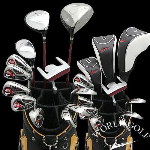 ワールドイーグル G510 + CBX007カードバッグ メンズゴルフクラブ16点フルセット 右用 ゴルフ用品