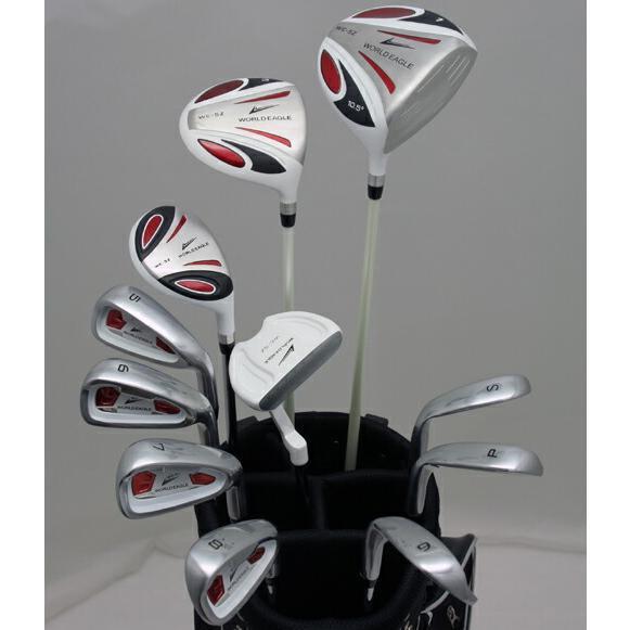 躍動感溢れるデザインで力強く!メンズ14点クラブセットフレックス-S evclst 送料無料 右用 ゴルフ用品