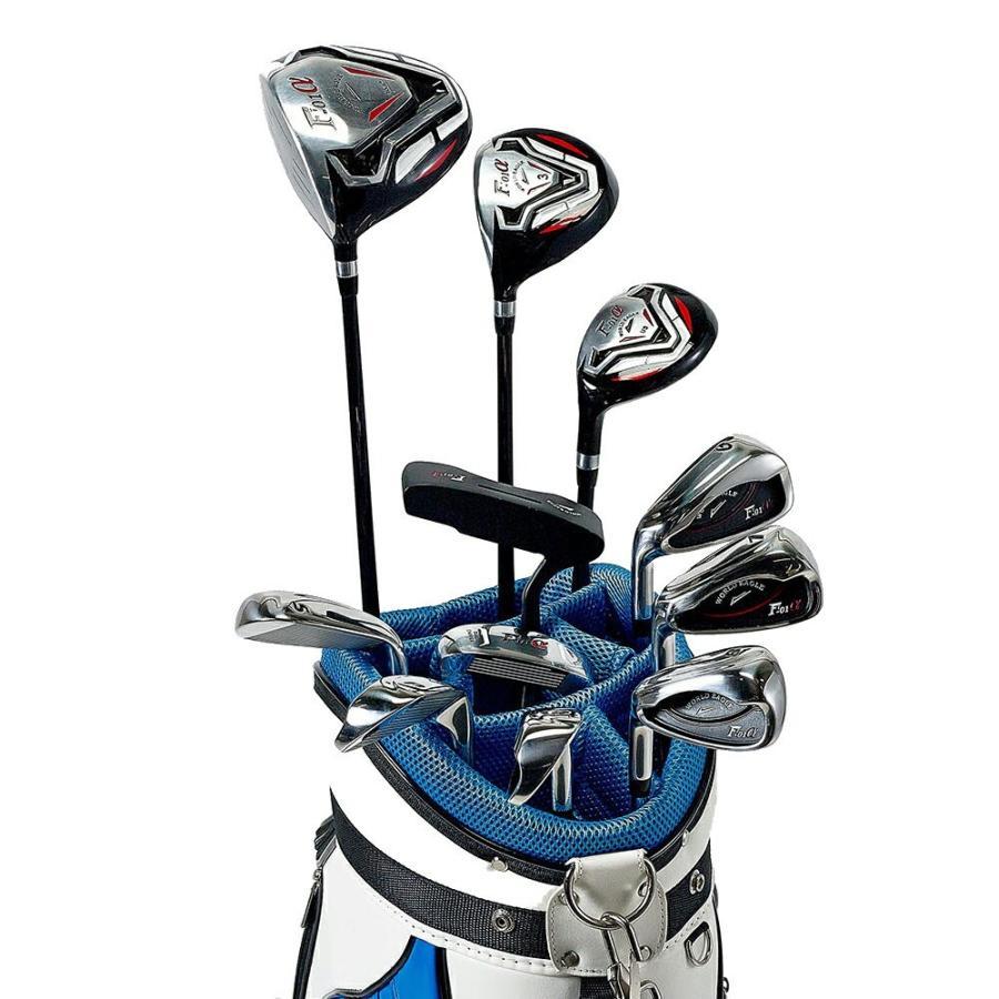 送料無料 ワールドイーグル F-01αクロスモデル メンズ ゴルフクラブセット 14点 左用 CBX005 ゴルフ用品