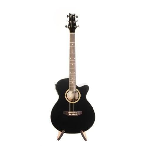 Ashton アシュトン SL Series SL29CEQBK Slim-Line Acoustic/エレキギター with Built-In チューナー ア