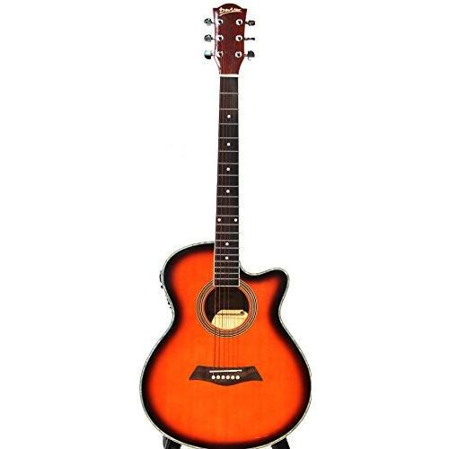 iMusicGuitar ; iMG360 アコースティックギター Natural 40インチ Full Size with Guitar Bag, extra Str