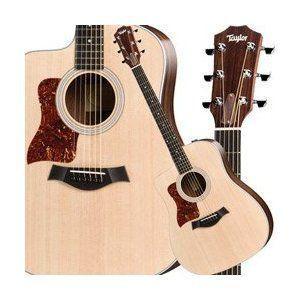 Taylor Guitars 200 Series 210-CE-G-L Deadnought Acoustic-Electric Guitar, Left Handed - Natural