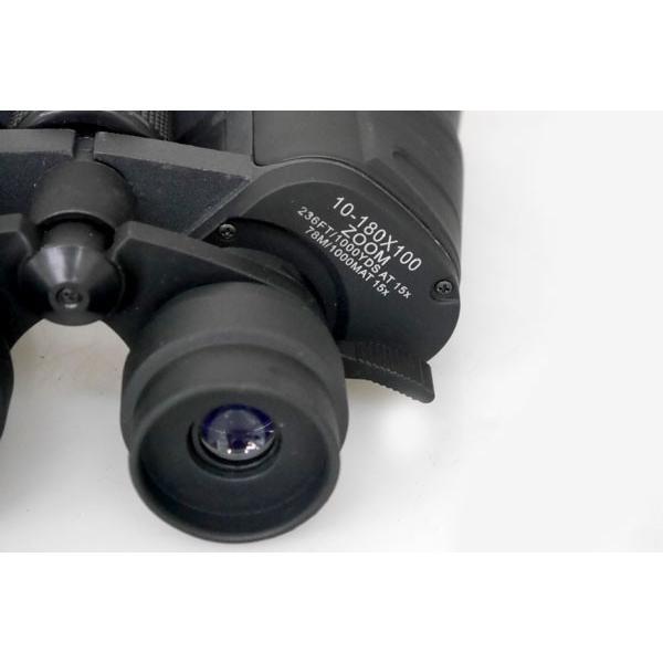 双眼鏡 ズーム式望遠鏡 昼夜兼用 大口径 10-180×100 スポーツ観戦/アウトドア等に worldnet 07