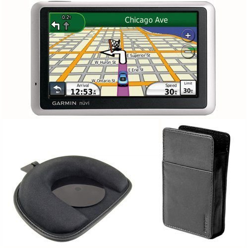Garmin(ガーミン) nuvi 1350T 4.3-Inch GPS Navigator with nuMaps Lifetime Updates,Carry Case and FrictionMount