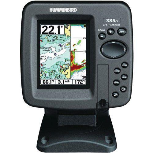 HUMMINBIRD 408430-1 385CI DI COMBO FISHFINDER - 408430-1