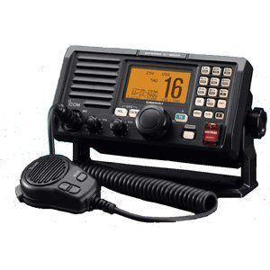 Icom M504-31 黒 VHF Rear Mic Version