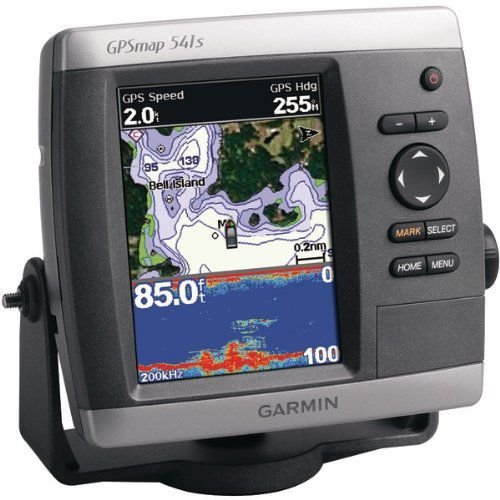 GPSMAP 541 Series Marine GPS Receiver (GPSMAP 541S; With dual-frequency transducer) - GARMIN