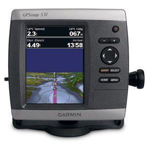 GARMIN GPSMAP 531 GPS CHART PLOTTER - 36357