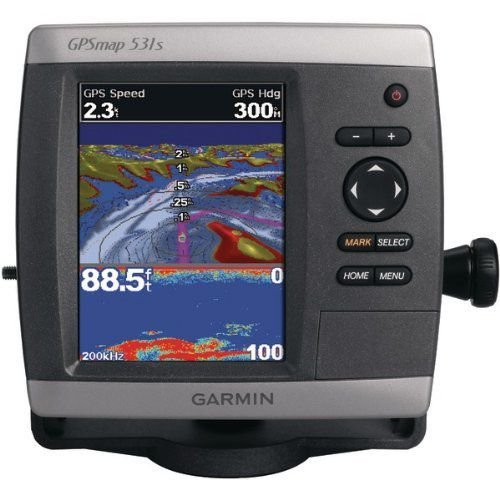 GARMIN 010-00761-01 GPSMAP 531 SERIES GPS RECEIVER (GPSMAP 531S; WITH DUAL-BEAM TRANSDUCER)