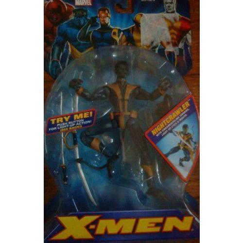 ナイトクロウラー (Eyes Light Up) - マーベル X-Men By Toybiz Mip