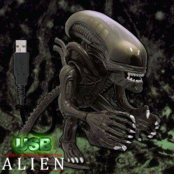 USB エイリアン with Illuminated Tongue