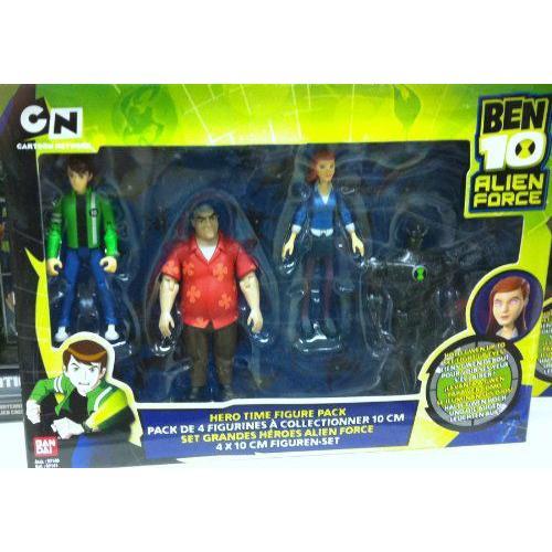 Ben 10 エイリアン Force, ヒーロー Time 4 フィギュア Pack Toy