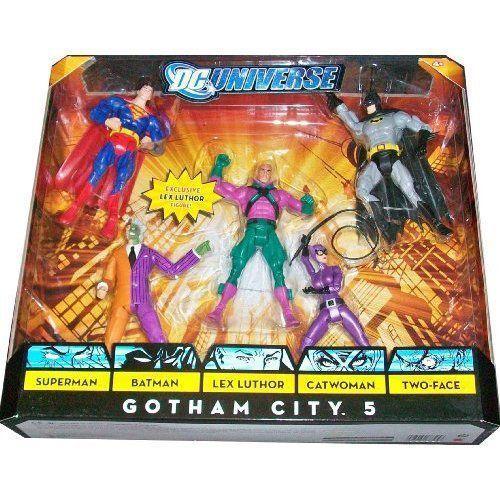 DC Universe Classics 限定 アクション フィギュア 5-Pack Gotham City 5 (スーパーマン, バットマン,