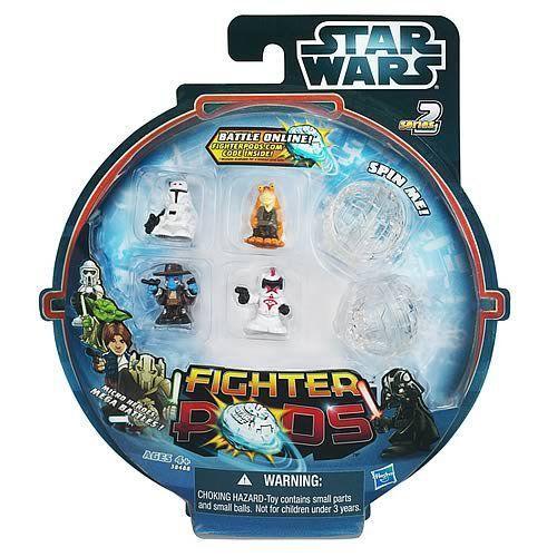 スターウォーズ Fighter Pods Battle フィギュア 4-Pack シリーズ 2