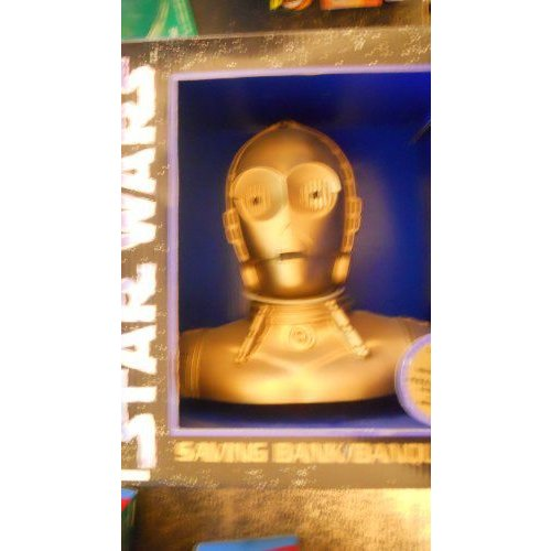 スターウォーズ C-3PO Bust Saving Bank
