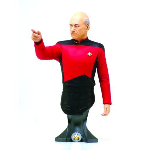 Titan Merchandise スタートレック: Captain Jean-Luc Picard Mini-Bust