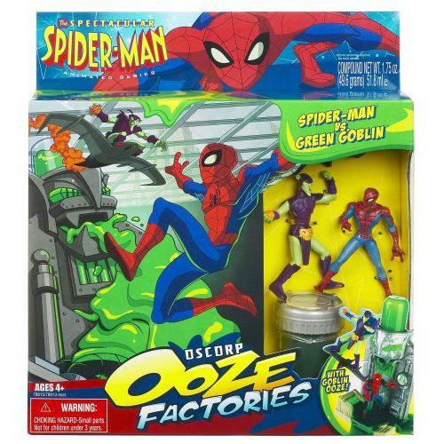 スパイダーマン Oscorp Ooze Factory セット - スパイダーマン vs. 緑 Goblin