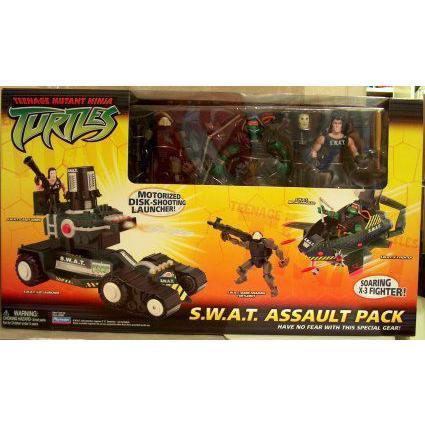 TMNT ティーンエイジ・ミュータント ニンジャ タートルズ S.W.A.T. Assault Pack