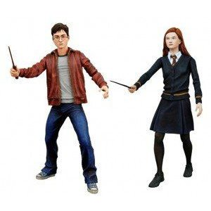 NECA ハリーポッター and the Half Blood Prince 7 Inch アクション フィギュア 2-Pack Harry and Ginny