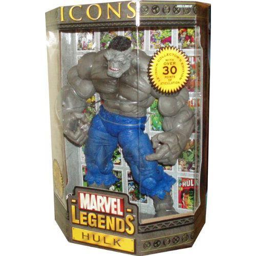 マーベル Legends Year 2006 ICONS シリーズ 12 Inch Tall アクション フィギュア - グレー ハルク(HULK) w