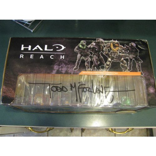 Todd McFarlane Comic Con Autograph (No Certificate of Authenticity) ヘイロー(Halo) Reach Collector