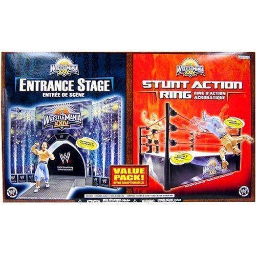 ワールドレスリング(WWE) Wrestlemania XXIV Ring and Stage - Toys R Us 限定