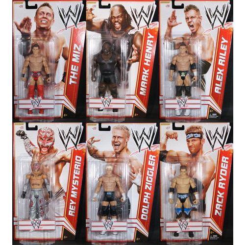コンプリート セット OF 6 - ワールドレスリング(WWE) シリーズ 17 ワールドレスリング(WWE) TOY レスリ