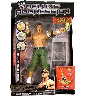 JOHN CENA - ワールドレスリング(WWE) レスリング デラックス Aggression シリーズ 6 フィギュア by Jakk