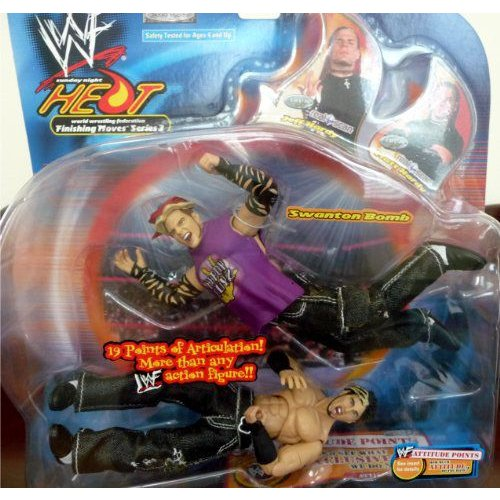 "JEFF HARDY vs. MATT HARDY ワールドレスリング(WWE) WWF Sunday Night Heat Finishing Moves 3 ""Swanto"