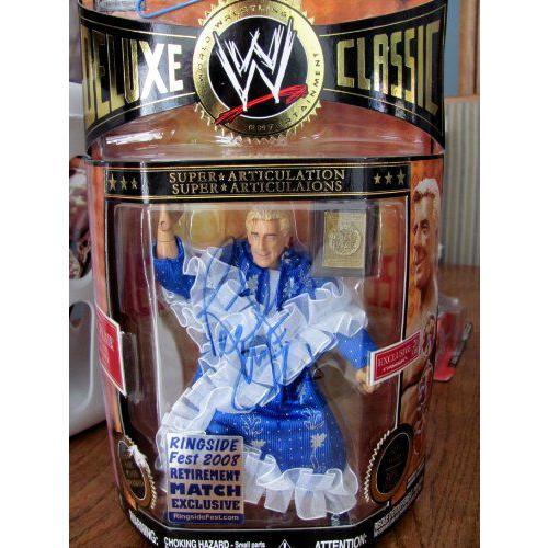 AUTOGRAPHED AUTO SIGNED ワールドレスリング(WWE) デラックス クラシック コレクター RETIREMENT RIC FL
