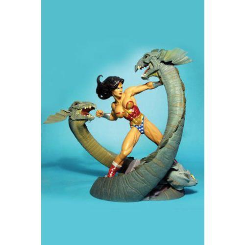 ワンダーウーマン & Serpents Statue Adam Hughes