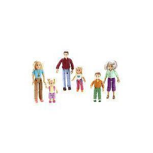 Fisher-Price(フィッシャープライス) ラビング ファミリー フィギュアs:Grandma, Brother, Mom, Dad, T