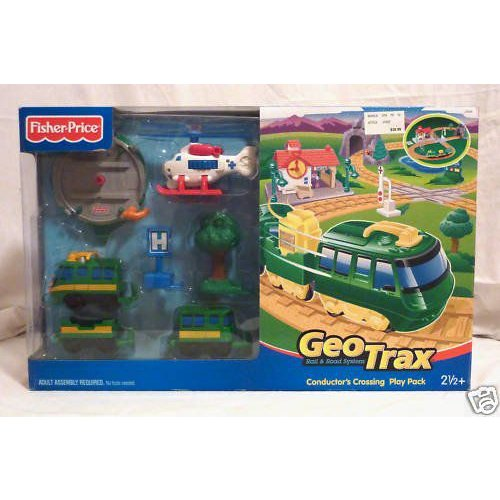 GeoTrax Conductor's Crossing プレイ パック by Fisher-Price(フィッシャープライス) (Geo Trax セット)
