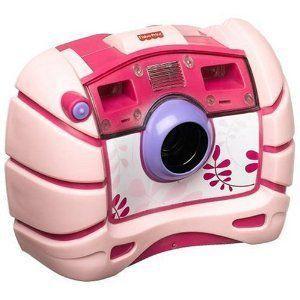 Fisher-Price(フィッシャープライス) Kid Tough デジタル カメラ - ピンク BONUS: 8 Batteries!